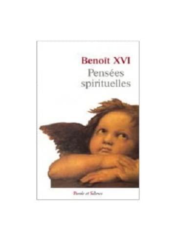 9782889180271: Pensées spirituelles (avril 2005 - mars 2006)
