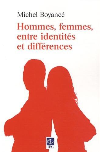 9782889181636: Hommes, femmes, entre identités et différences