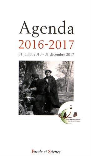 9782889188369: Agenda 2016-2017 : 31 juillet 2016-31 décembre 2017