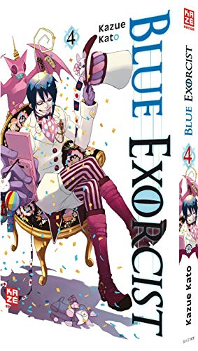 9782889210282: Blue Exorcist 04
