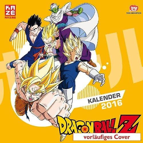 9782889211197: Dragonball Z - Wandkalender 2016