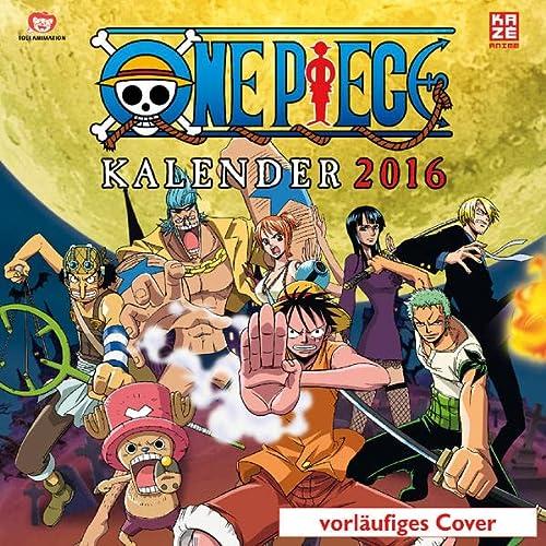 9782889211210: One Piece - Wandkalender 2016