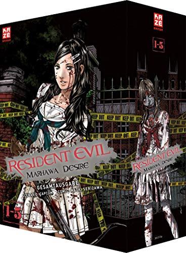 9782889217267: Resident Evil - Marhawa Desire Gesamtausgabe