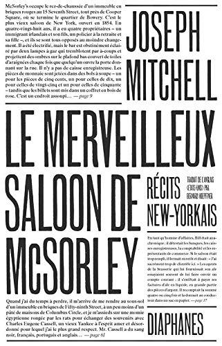 MERVEILLEUX SALOON DE MC SORLEY -LE-: MITCHELL JOSEPH