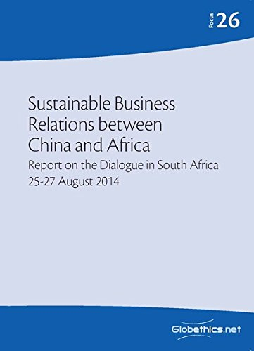 Sustainable Business Relations between China and Africa: Christoph Stückelberger