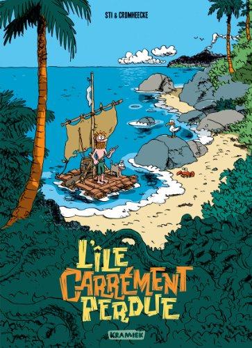 L'île carrément perdue, Tome 1 : Grog: Sti, Luc Cromheecke