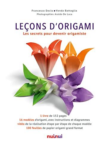 9782889355112: Leçons d'Origami Les secrets pour devenir origamiste
