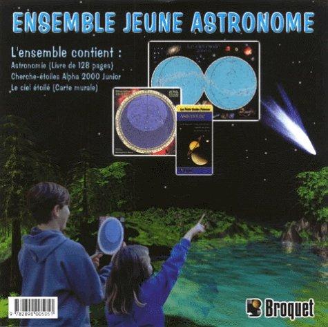 9782890005051: Ensemble jeune astronome : Astronomie. Cherche-�toiles Alpha 2000 Junior. Le ciel �toil� (carte murale)