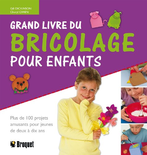 9782890008854: Grand livre du bricolage pour enfants