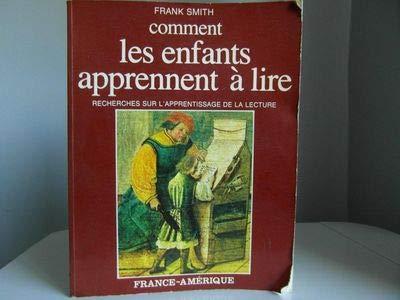 Comment les enfants apprennent à lire (: Smith, Frank