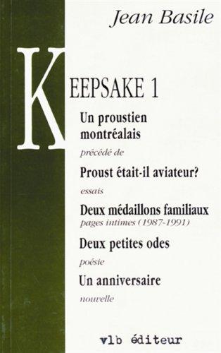 KEEPSAKE T.1: Jean Basile