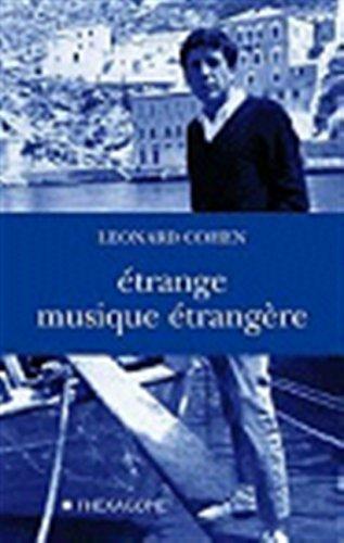 Etrange Musique Etrangere (9782890066403) by Leonard Cohen