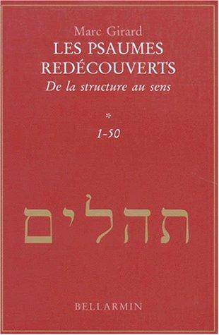 9782890078031: Les psaumes redécouverts Tome 1