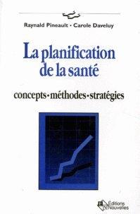 9782890220867: Planification de la sante