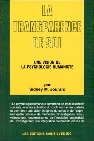 9782890340084: La transparence de soi