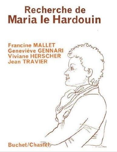 9782890370814: Recherche de Maria Le Hardouin