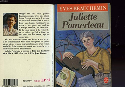 Juliette Pomerleau (Collection Litterature d'Amerique) (French Edition): Beauchemin, Yves