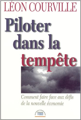 9782890377325: Piloter Dans la Temp�te