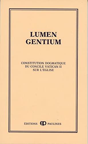 9782890391970: lumen gentium