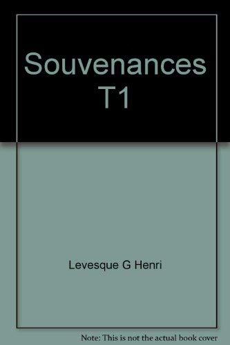 Souvenances (French Edition): Levesque, Georges-Henri