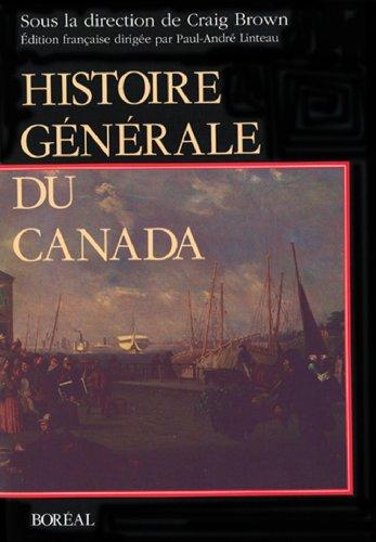 9782890522497: Histoire du canada bor