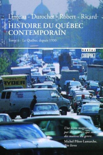 9782890522985: Histoire du Québec contemporain 2
