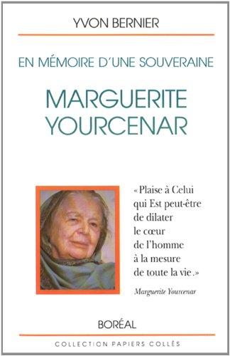 9782890523616: En m�moire d'une souveraine : Marguerite Yourcenar