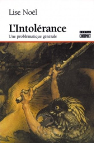 9782890524088: L'intolerance (French Edition)
