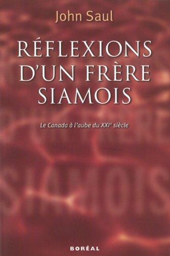 9782890529267: Reflexions d'un Frere Siamois
