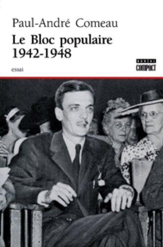 9782890529427: le bloc populaire 1942-1948
