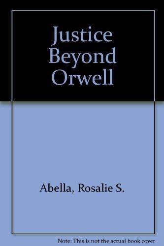 9782890735545: Justice Beyond Orwell