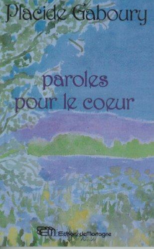 9782890742482: Paroles Pour Le Coeur