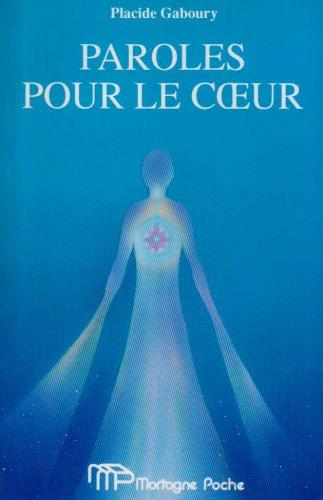 9782890745230: Paroles Pour Le Coeur