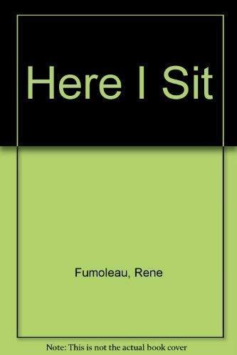 9782890887916: Here I Sit