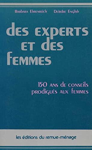 9782890910379: Des Experts et des Femmes