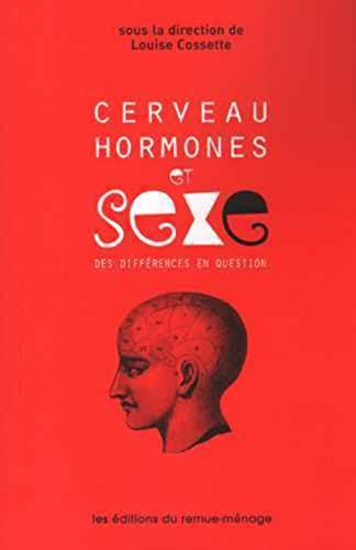 9782890914377: Cerveau des hormones et sexe : Des différences en question