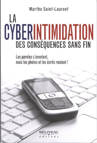 CYBERINTIMIDATION -LA- DES CONSEQUENCES: SAINT LAURENT MARTHE