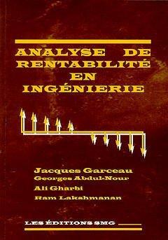 9782890940772: analyse de rentabilite en ingenierie avec diskette