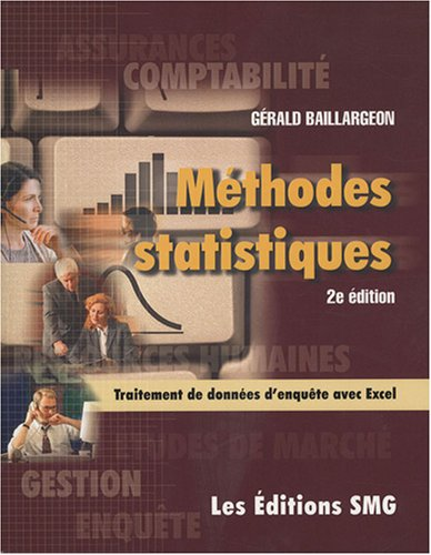 METHODES STATISTIQUES 2ED+CD ROM + BROCH: BAILLARGEON GERALD