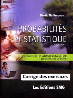 9782890942837: Probabilites et Statistique pour les Sciences de la Nature et les Sciences de la Sante (3e ed.)