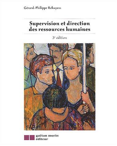 9782891058421: supervision et direction des ressources humaines