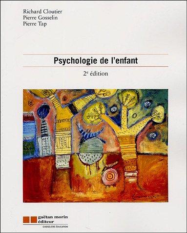 9782891059169: Psychologie de l'enfant