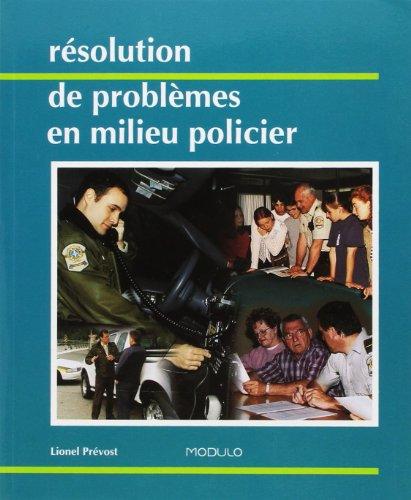 resolution des problemes en milieu policier: n/a