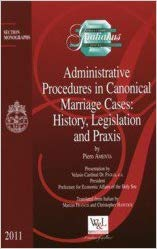 9782891279819: Administrative Procedures in Canonical Marriage Cases: History, Legislation and Praxis