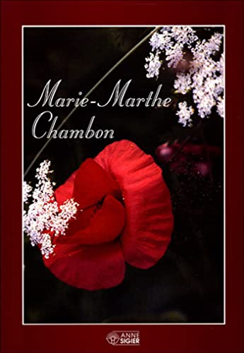 9782891292542: marie marthe chambon