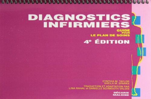 DIAGNOSTICS INFIRMIERS : GUIDE POUR LE PLAN DE SOINS, 4E ÉD.: TAYLOR CYNTHIA M.
