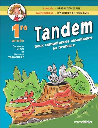TANDEM 1RE: TCHOU TRANQUILLE