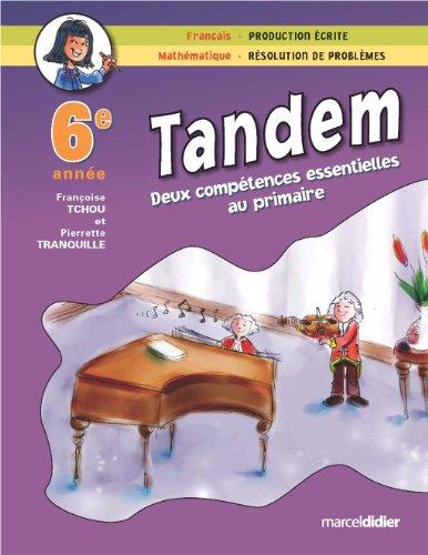 TANDEM 6E: TCHOU TRANQUILLE
