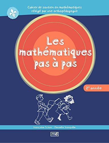 9782891446723: Les mathématiques pas à pas 2e année