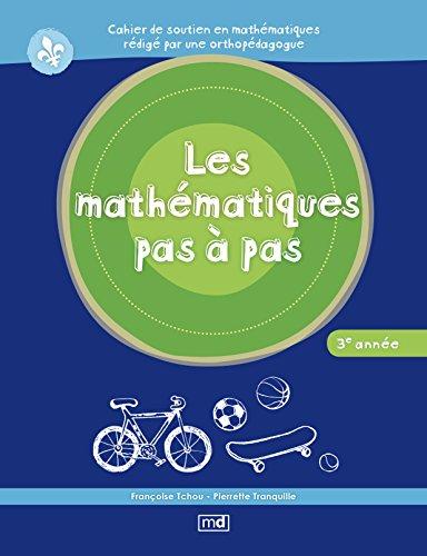 9782891446730: Les Mathematiques Pas a Pas, 3e Annee
